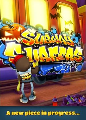 Обновление Subway Surfers 1.4 Halloween