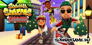 Subway Surfers Лондон (Англия)
