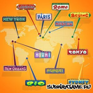 Subway Surf World Tour