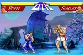 Street Fighter 2 Ryu VS Sagat