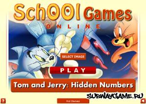 Найти числа с Томом и Джерри