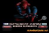 Спайдермен ищет алфавит