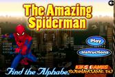 Спрятанные буквы Человека-паука