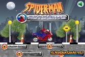 Человек-паук на мотобайке