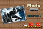 Человек-паук в черном костюме