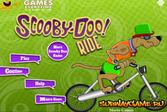 Скуби Ду и велосипед
