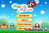 Марио в шахте