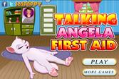 Первая помощь кошке Анжеле