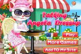 Говорящая Анжела - Одевалка online