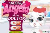 Говорящая Анжела у Доктора