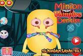 Миньон вампир лечит зубы