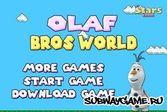 Холодное сердце: Олаф в мире Марио