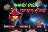 Космический капитан соревнуется со злобными птичками