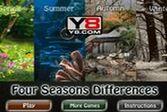 Четыре сезона - найдите отличия в зеркальных изображениях