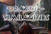 Похожие драконы - ищем одинаковое в двух разных изображениях