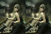 Найди отличия в изображении с реальными людьми