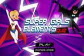 Супер девушки - создай свою героиню