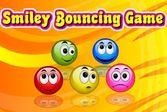 Прыгающие смайлики - собери разноцветные улыбки