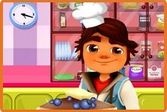 Сабвей Серфер кулинар - готовим пирог