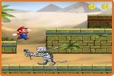 Марио убегает от снарядов