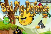 Плохие свиньи: защита от злых птичек