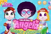Говорящая Анжела уроки танцев
