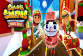 Subway Surf North Pole