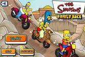 Гонка семейки Симпсонов - выбери себе героя