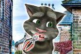 Говорящий кот Том на приеме у стоматолога