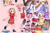 Одевалка Сакуры - примеряйте весь гардероб