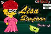 Лиза Симпсон: одевалка для девочек