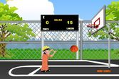 Наруто учится баскетболу (упражнения по меткости)