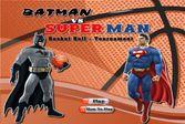 Баскетбольный поединок: Бэтмен против Супермена