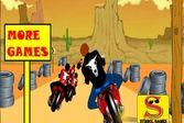 Мотоциклы 3Д - трасса в пустыне Северной Америки