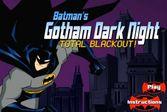 Бэтмен в ночном городе разминирует бомбы