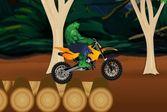 Мотоцикл и Халк! Мотобайк для супергероя