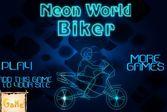 Neon World Biker - для любителей неоновых огней