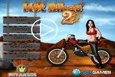 Hot Bikes 2 - помоги прекрасной даме справиться с управлением