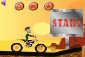 Зомби мотогонщик - помоги справиться с управлением