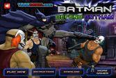 Бэтмен защищает Готэм Сити от злодеев