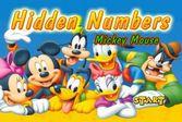Микки Маус спрятанные цифры на изображении