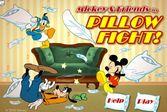 Микки Маус: Битва Подушками втроём