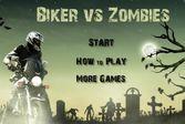 Байкер против зомби - зачистить город от мертвецов
