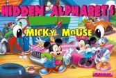 Микки Маус: спрятанный алфавит на красочных изображениях