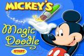 Магический холст Микки Мауса - рисуем вместе