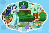 Принцесса Жасмин: Уборка спальни после посиделок друзей