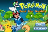Pokemon - cоедини линии и убери одинаковых с поля