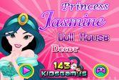 Принцесса Жасмин: Декор кукольного дома