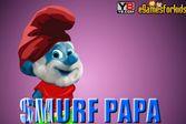Папа Смурф - оденьте его быстрее