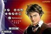 Образ Дэниела Рэдклиффа загримированного под Гарри Поттера